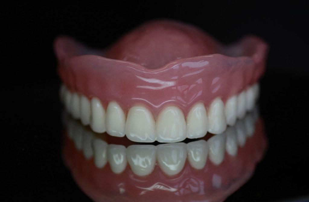 Proteza całkowita górna akrylowa